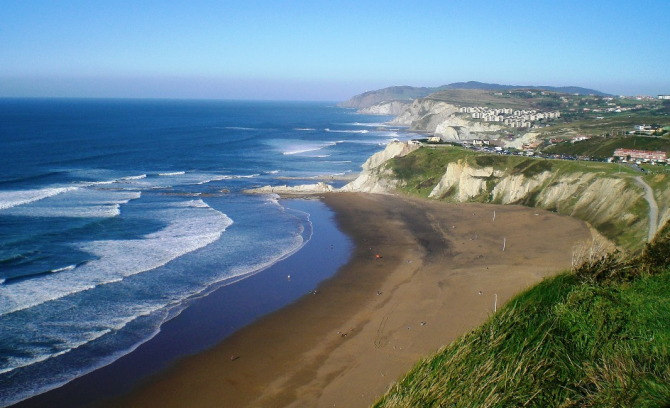 Praia de Sopelana (Biscaia)