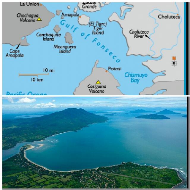 Залив Фонсека (Никарагуа-Гондурас-Сальвадор)