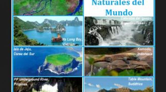 7 природных чудес Центральной Америки