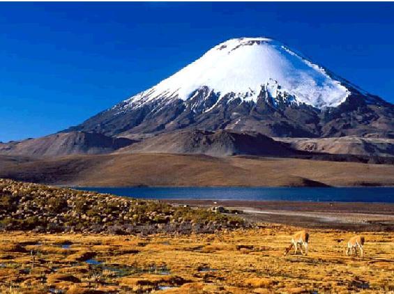 Вулкан Параникота (Боливия)