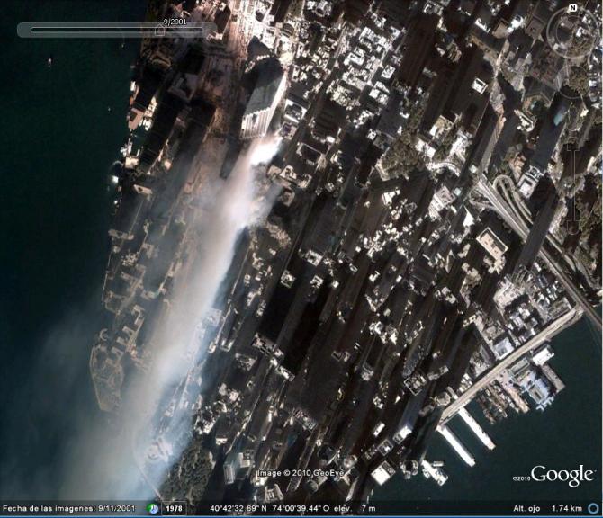 9/11 ATAQUE (CENTRO MUNDIAL DE TRABALHO) 2001