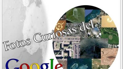 Curieuses photos de Google Earth