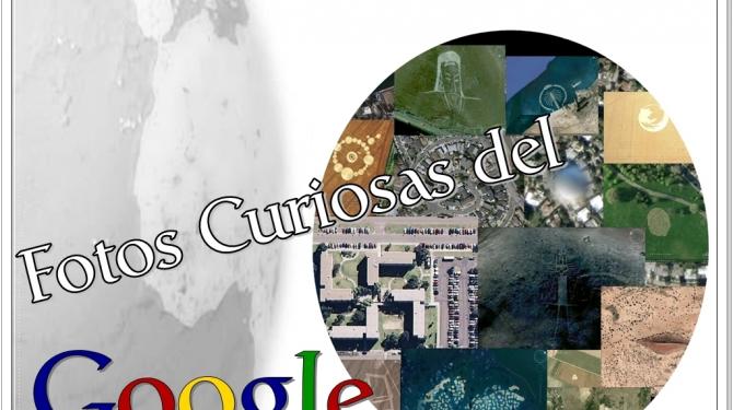 Curious photos of Google Earth