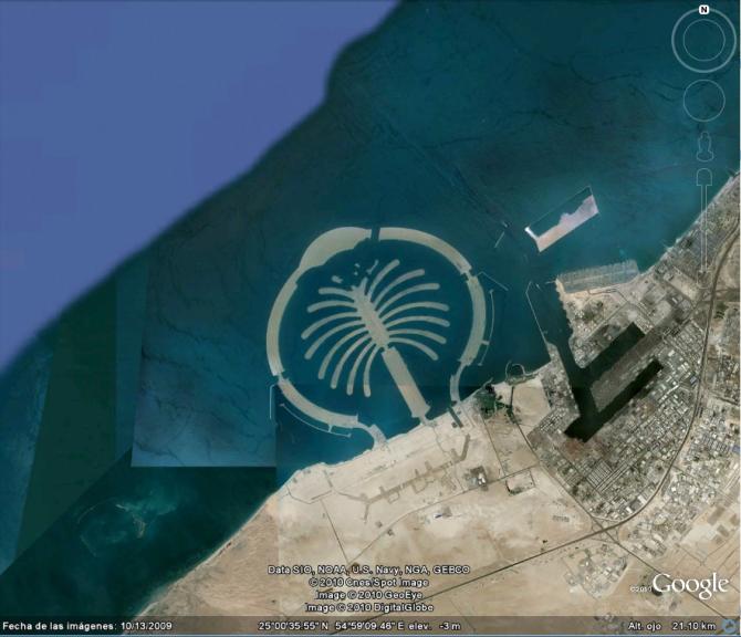 DUBAI PALM (ARAB EMIRATES)
