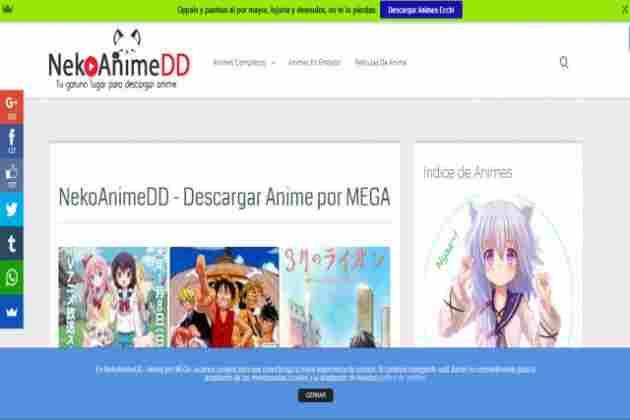 NekoAnimeDD - Tu Web para Descargar Anime por Mega