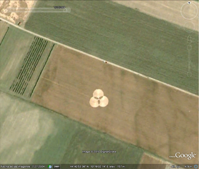 """""""EXTRATERRESTRES"""" CIRCLES IN ITALY"""