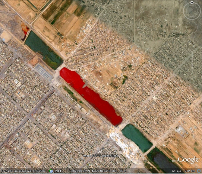 RED LAKE IN IRAK