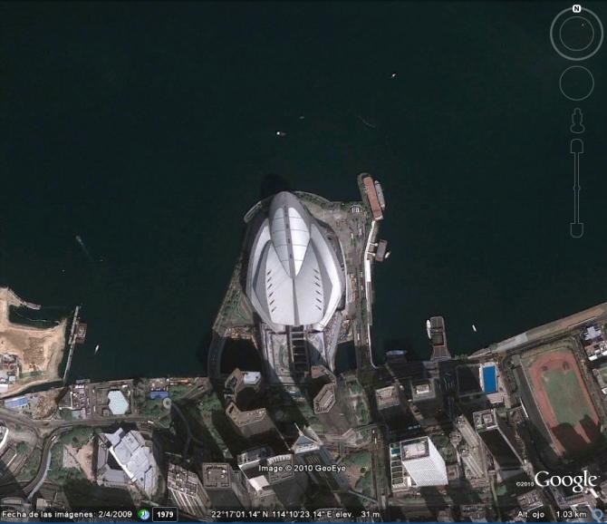 SPACE SHIP IN HONG KONG