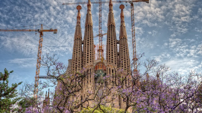 The masterpieces of Antoni Gaudí