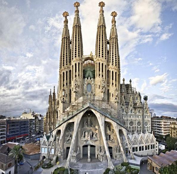The Sagrada Familia (Barcelona)