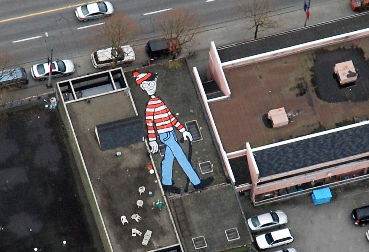 WHERE IS WALLY ON GOOGLE EARTH?