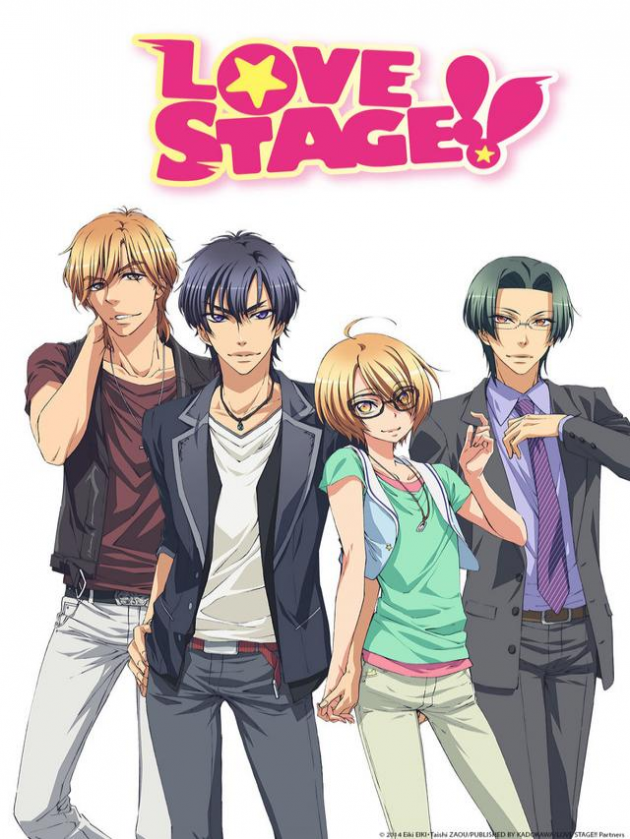 Love stage and back stage