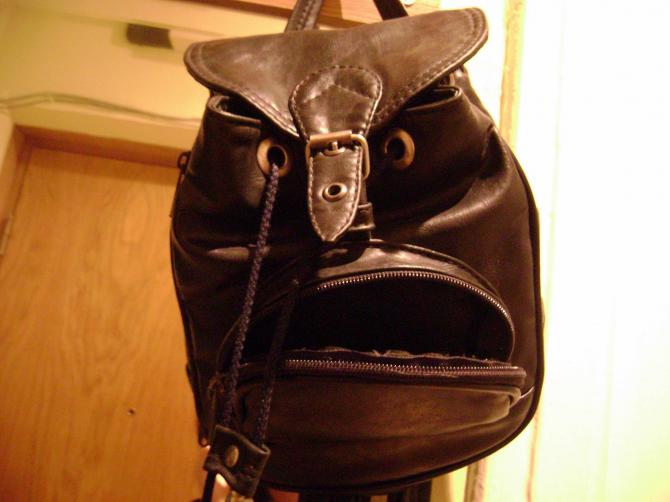 Aggressiv väska