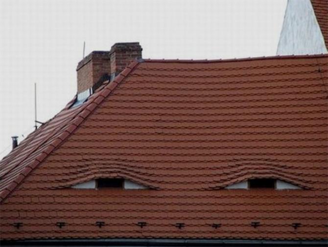 Ett sömnigt hus