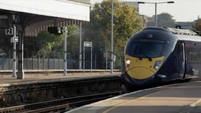 Idag är tåget trött