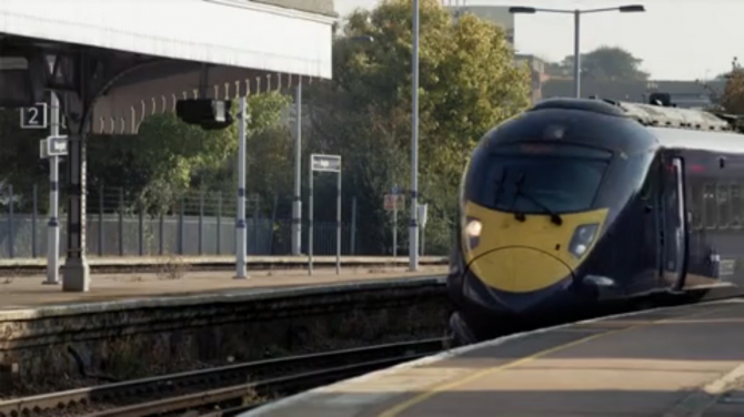 今天火车累了