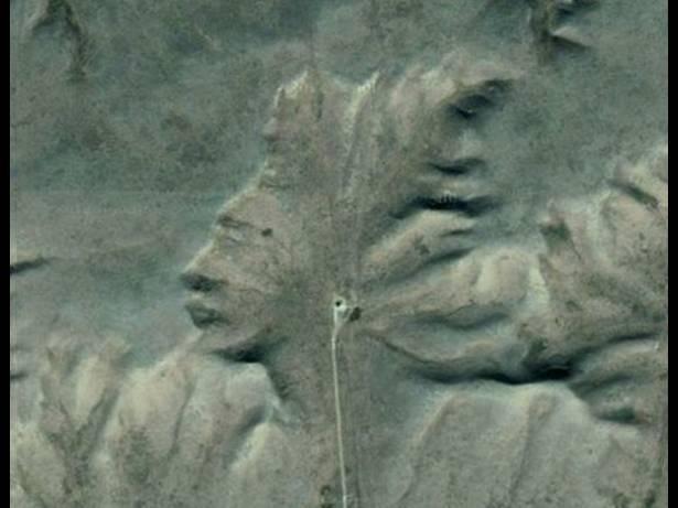Sebuah gunung apache