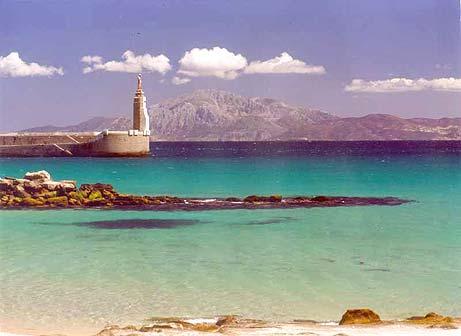 Пляж Болония в Тарифе (Кадис)