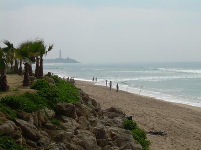 Пляж Захора в Барбате (Кадис)