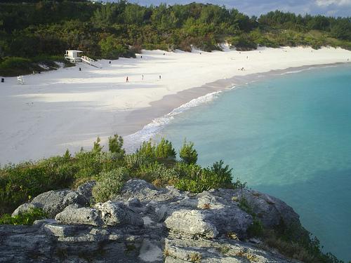 Пляж Лос Лансес в Тарифе (Кадис)