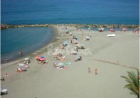 Торренуева пляж в Мотриль (Гранада)