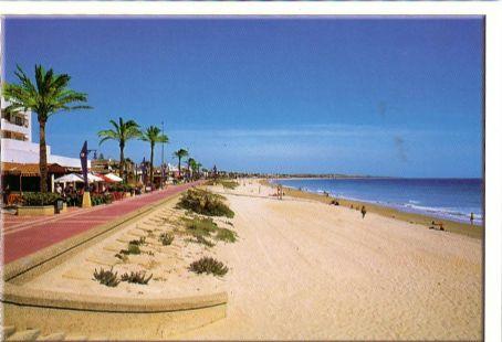Barrosa beach in Chiclana de la Frontera (Cádiz)