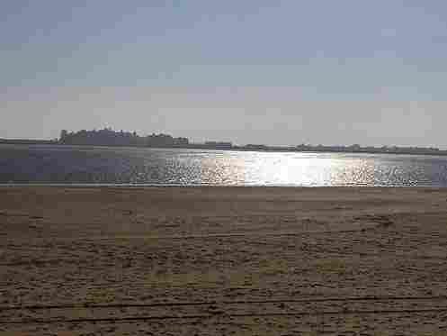 Central Beach in Isla Cristina (Huelva)