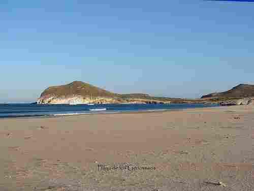 Los Genoveses beach in Níjar (Almería)