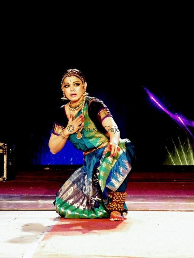 Many of India's folk dances including Bharatha Natyam show steps inspired by the peacock courtship dance