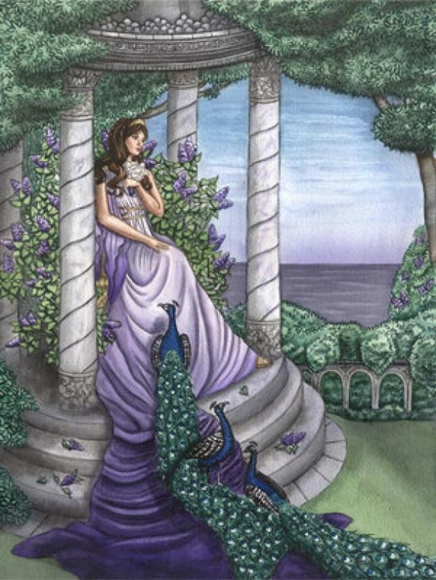 Na Grécia antiga, o pavão era o símbolo da deusa Hera