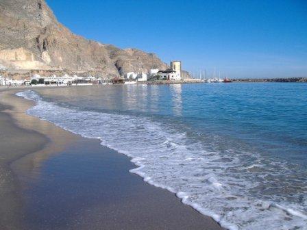 Plage d'Aguadulce (Almería)