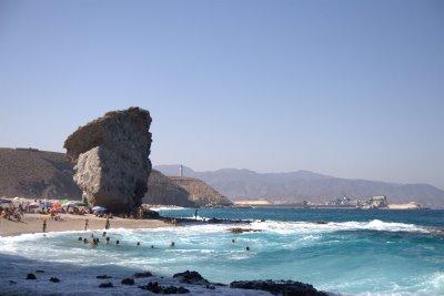 Plage des morts à Carboneras (Almería)