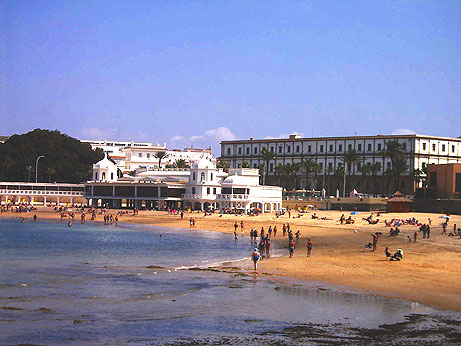 Plage La Caleta (Cadix)