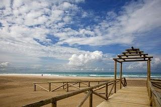 Playa Camposoto en San Fernando (Cádiz)