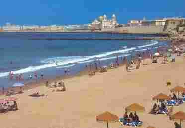Playa de La Victoria ( Cádiz)