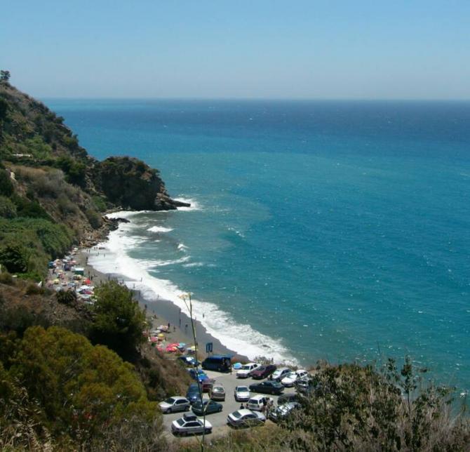 Playa de Maro en Nerja ( Málaga)