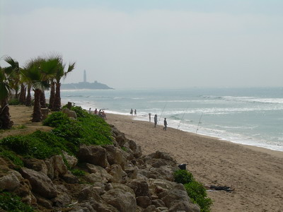 Playa de Zahora en Barbate ( Cádiz)