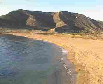 Playa Playazo de Rodalquilar en Níjar ( Almería)