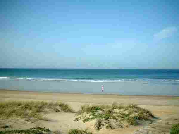 Sancti Petri beach in Chiclana (Cádiz)
