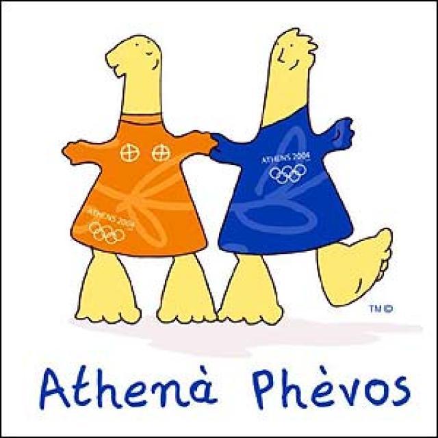 Athenà und Phèvos (Athen 2004).