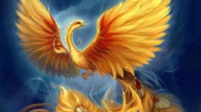 Oiseaux mythologiques