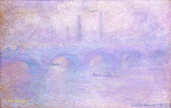 Мост Ватерлоо Клода Моне