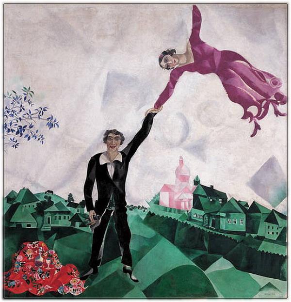 A caminhada de Marc Chagall