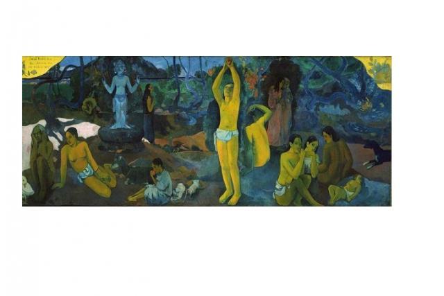 De onde viemos? Quem somos? Aonde vamos? por Paul Gauguin