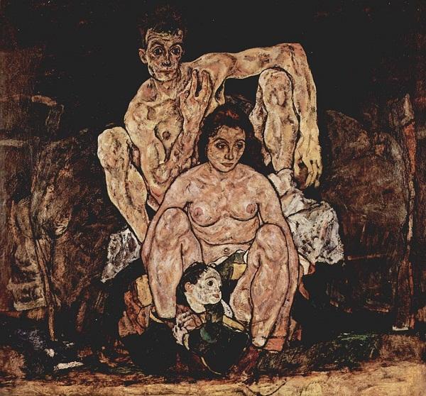Família de Egon Schiele