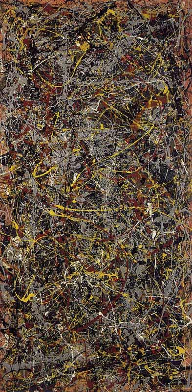 Não. Jackson Pollock 5, 1948