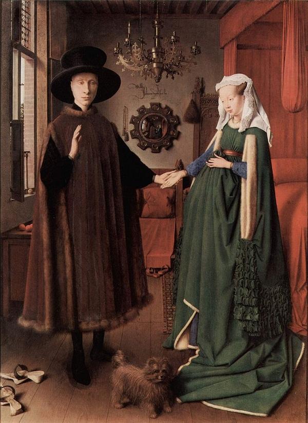 O retrato de Arnolfini de Jan van Eyck