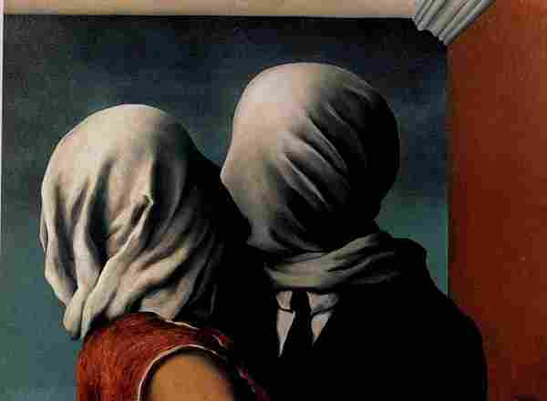 The lovers of René Magritte