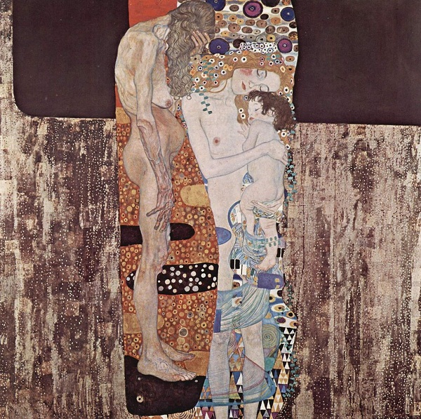 The three ages of Gustav Klimt's wife