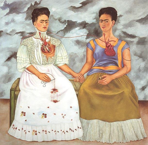 The two Fridas of Frida Kahlo